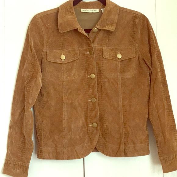 BAMBOO Jackets & Blazers - Brown Jacket
